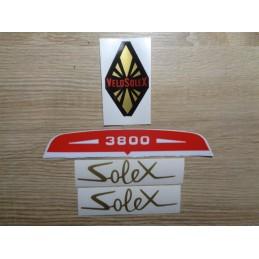 SOLEX 3800 STICKER KIT