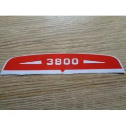 STICKER 3800