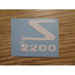 STICKER SOLEX 2200