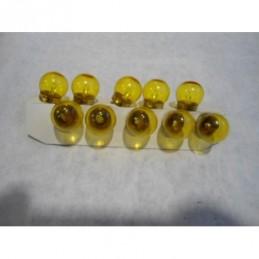 Lampada amarela solex 6 v 6 w