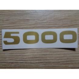 AUTOCOLLANT SOLEX 5000