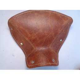 BROWN LEATHER TOP...